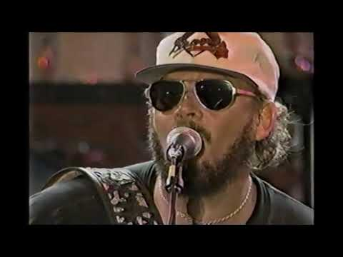 Hank Williams Jr. Live 1996 All-Star Country Fest