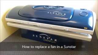 How to Replace Fan in ETS Sun Star Tanning Bed