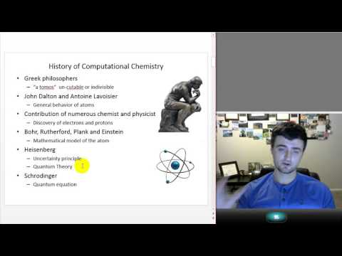 Presentation on Computation Chemistry and Drug Research