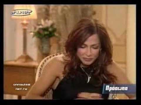 Anna Vissi. Interview.