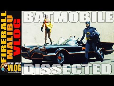 GEORGE BARRIS 1966 BATMOBILE DISSECTED! - FIREBALL MALIBU VLOG 698