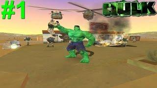 Hulk (03) PS2 Gameplay #1 [Puny Army]