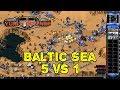Red Alert 2 - Baltic Sea Map - 5 Brutals vs 1