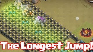 Clash Of Clans - THE LONGEST JUMP (W/ 5 Jump Spells!)