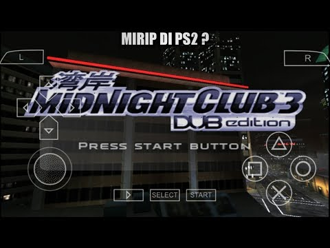 Cara Download Game Midnight Club 3 DUB Edition PPSSPP Android