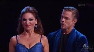 Marilu Henner & Derek Hough Vs Ryan & Cheryl Dance-off - Cha-cha-cha