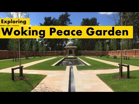 Exploring Woking Peace Garden, the cemetery for Muslim soldiers from World War 1 & 2