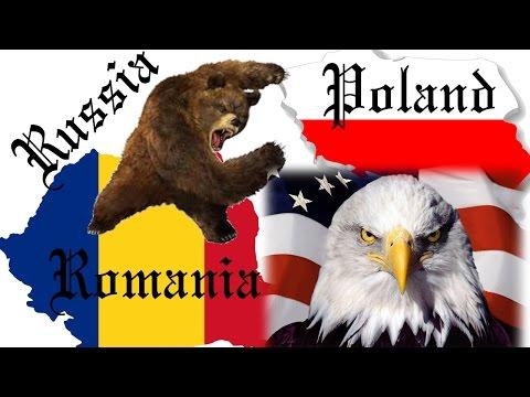Romania and Poland