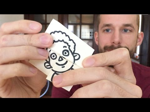 How To Make an Origami Face Changer