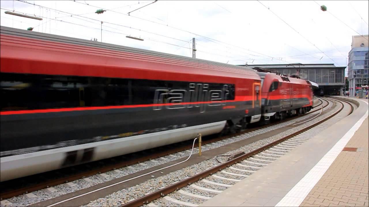 Railjet Der öbb Von München Hbf Nach Budapest