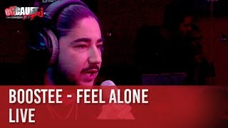 Boostee - Feel Alone - Live - C'Cauet sur NRJ