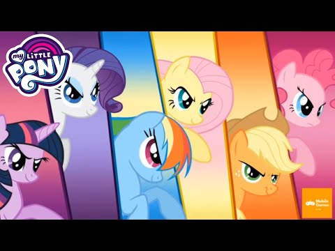 My Little Pony: Harmony Quest Part 2 - Play Fun Mini Games Across Equestria | Mobile Games 4 Kids