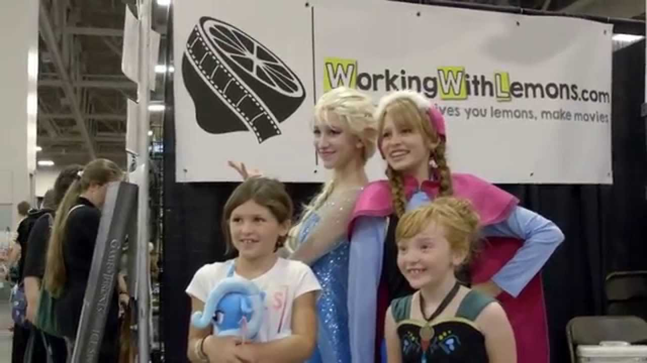 Comic Con 2014! Working with Lemons - YouTube