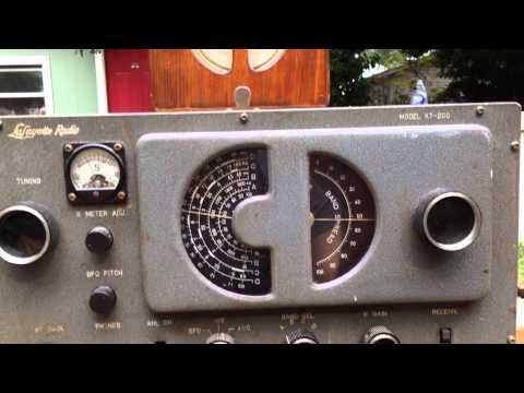 Lafayette tube radio KT-200