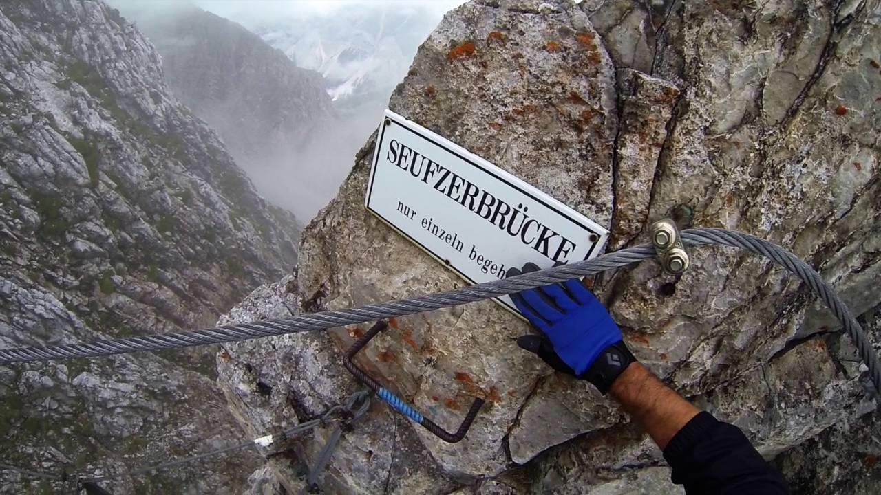 Klettersteig Innsbruck : Klettersteig innsbruck via ferrata nordkette hafelekar seegrube
