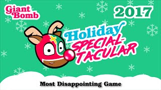 Game of the Year 2017: Most Disappointing Game