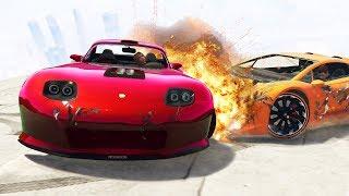 Никто не выживет в этом дерби! Гонки на машинах в GTA 5 Online | MYE