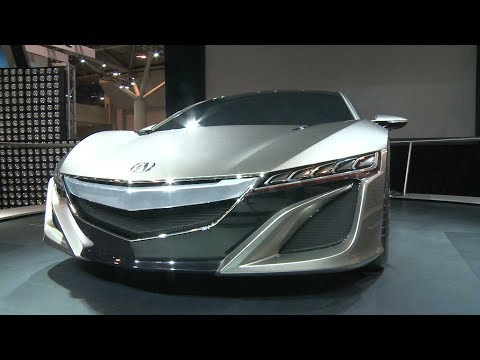2012 Canadian International AutoShow. Acura NSX Concept