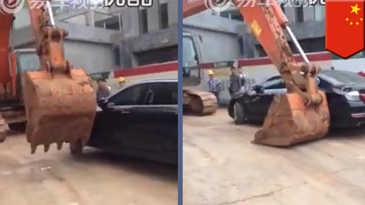 Never Piss Off A Guy Who Owns A Backhoe