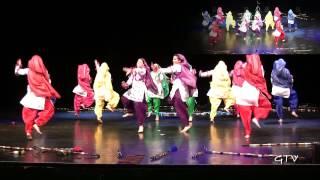 Punjab Folk Academy (PFA) Senior Girls @ Bhangra Idols 2012 (Best of the Best)
