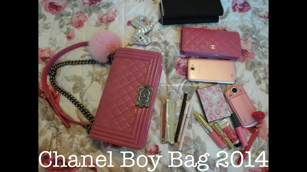 ad232ae25337f7 Chanel boy bag 2014 (Cantonese Version)   Angelbirdbb - YouTube
