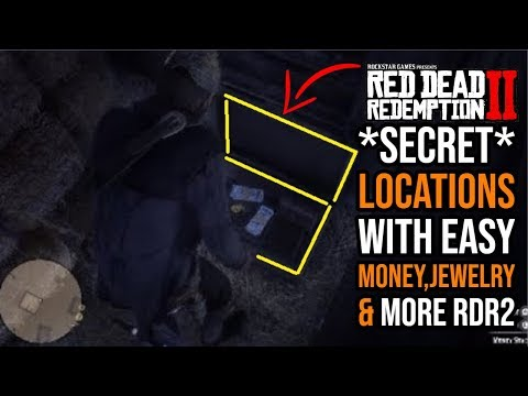 Red Dead Redemption 2 Secret Locations With Easy Money Jewelry More Rdr2