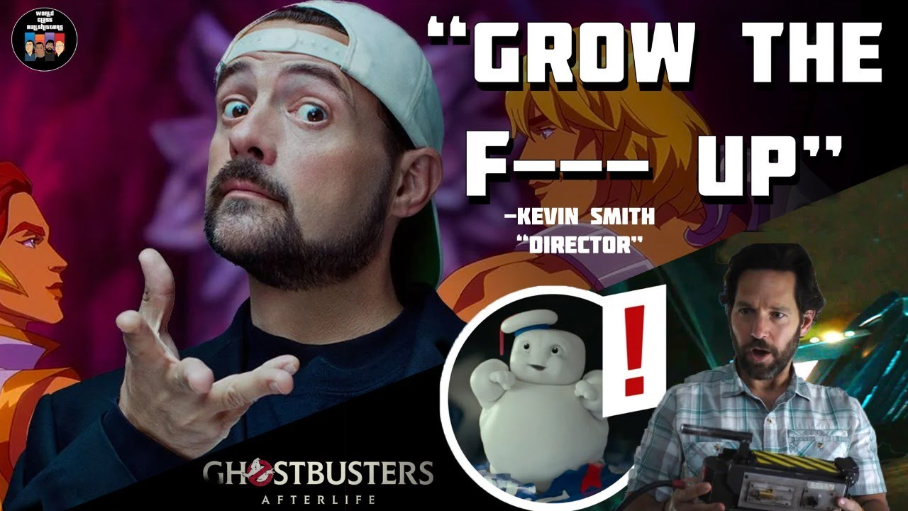 """Ghostbusters: Grow the """"F"""" Old  Kevin Smith: """"Grow the F--- Up""""  Special Guest Joins"""