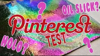 Pin Or Pass? | DIY Holographic Paper!!! How to make HOLO paper