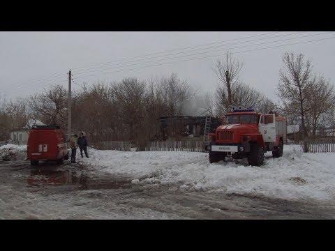 В Мантуровском районе пожар унес жизни двух человек