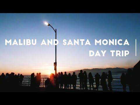 Malibu & Santa Monica Day Trip   VLOG