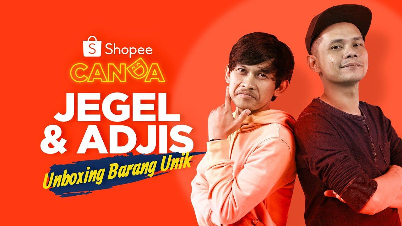 Boleh Kakak: Adjis & Jegel Unboxing Barang Unik | Shopee Canda