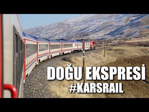 Doğu Ekspresi ile Kars'a Gitmek - #KarsRail [4K]