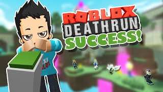 There's a first for everything! ROBLOX Deathrun Victory