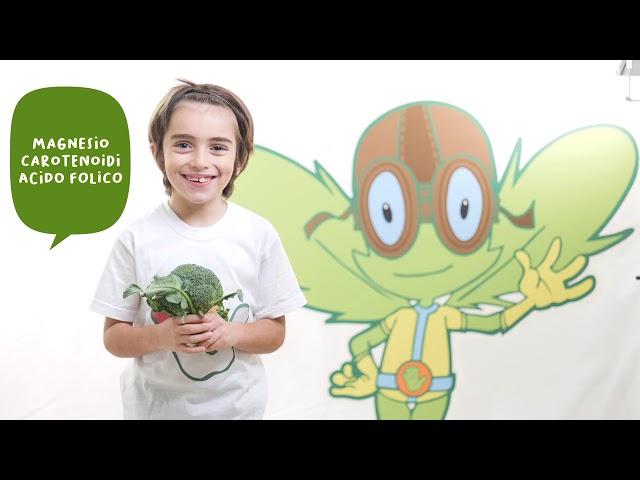 I cinque colori del Gusto e del Benessere - colore verde - video spot