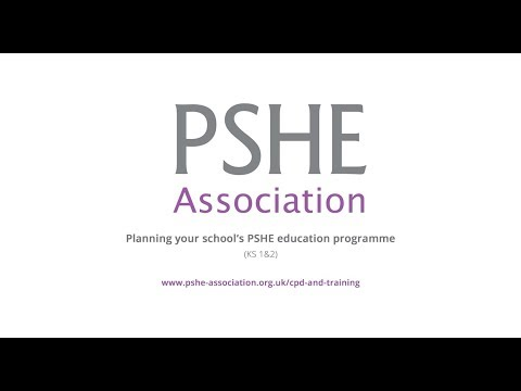 CPD: Planning your school's PSHE education programme (Primary, key stage 1 & 2)