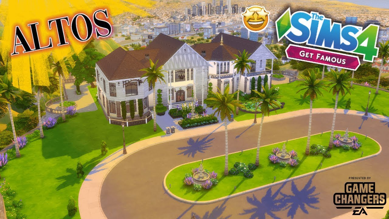 THE SIMS 4 – GET FAMOUS BUILD BUY REVIEW [ALTO FAMILY HOUSE