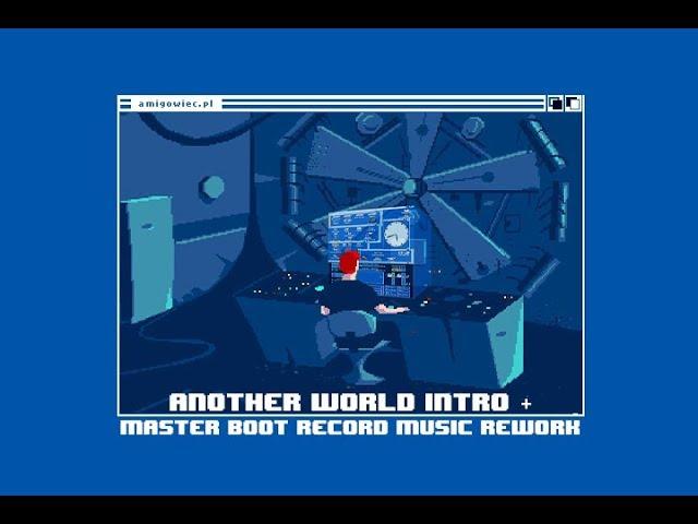 Another World AMIGA Intro | Gameplay | Music Remix