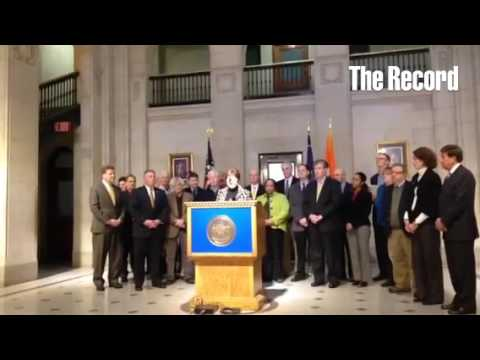 Kathy Sheehan talks about a possible renaissance in Albany @AlbanyCityHall