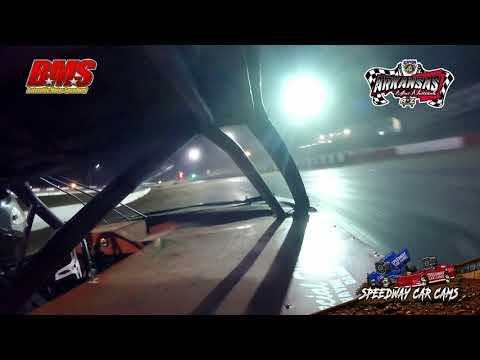 #11 Jody Shaw - Kajun Mini Stock - 9-14-18 Batesville Motor Speedway - In Car Camera