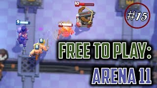 Arena 11 is upon the horizon, and we're making great strides toward...