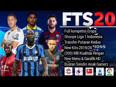TERBARU!!! Fts 2020 Mod Liga Indonesia Grafik HD - 동영상