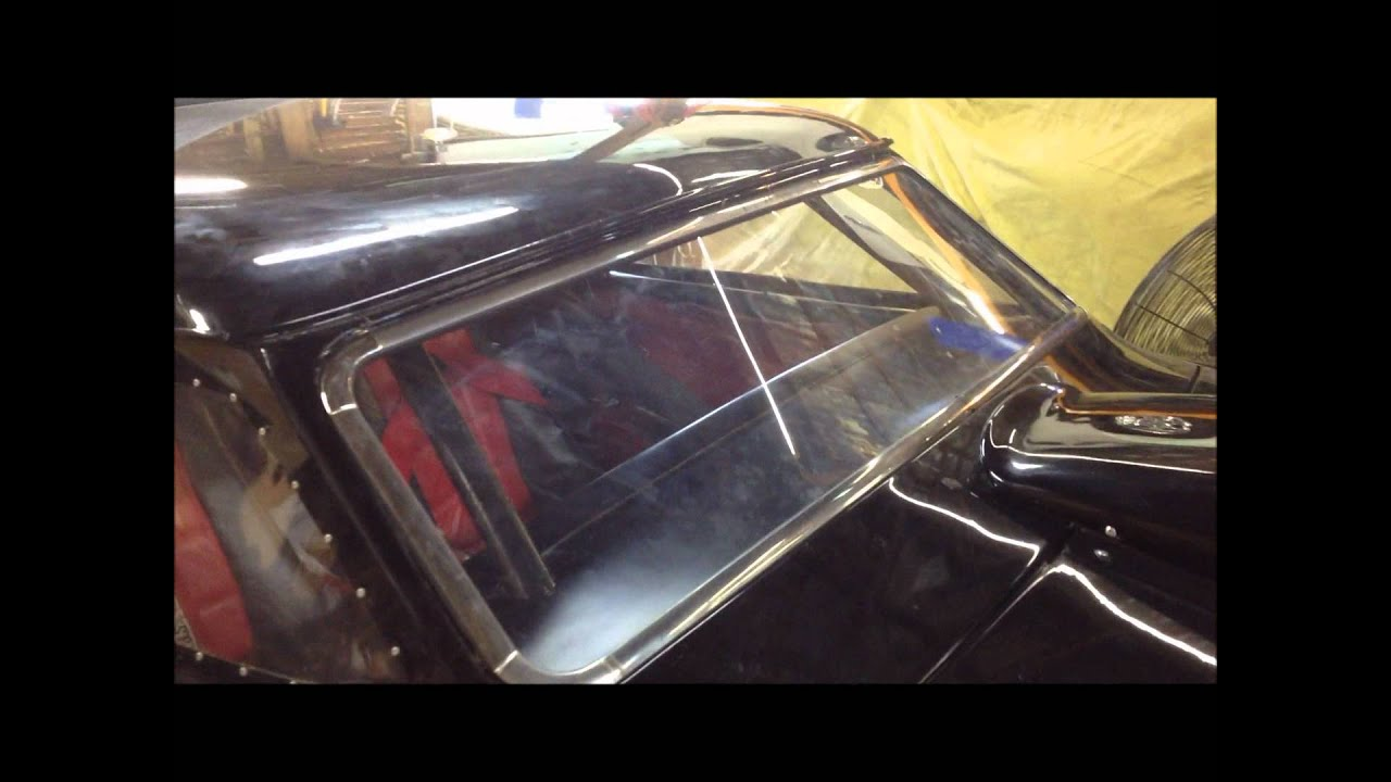 1953 Stude Drag Car Lexan Windshield Project - YouTube