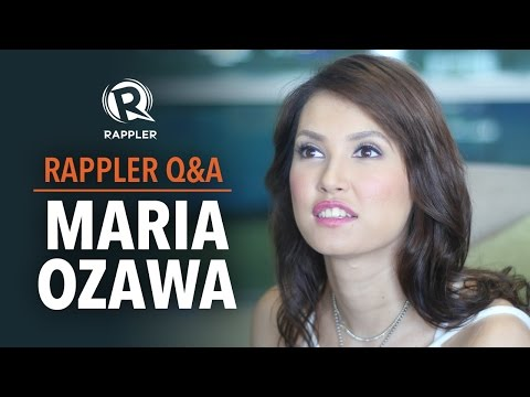 Maria Ozawa on PH showbiz career, leaving porn industry