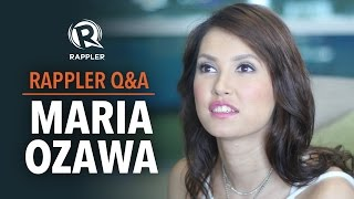 Maria Ozawa on PH showbiz career leaving porn industry