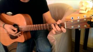 No woman no cry acoustic style (Bob Marley - Fugees) - Le tuto guitare facile