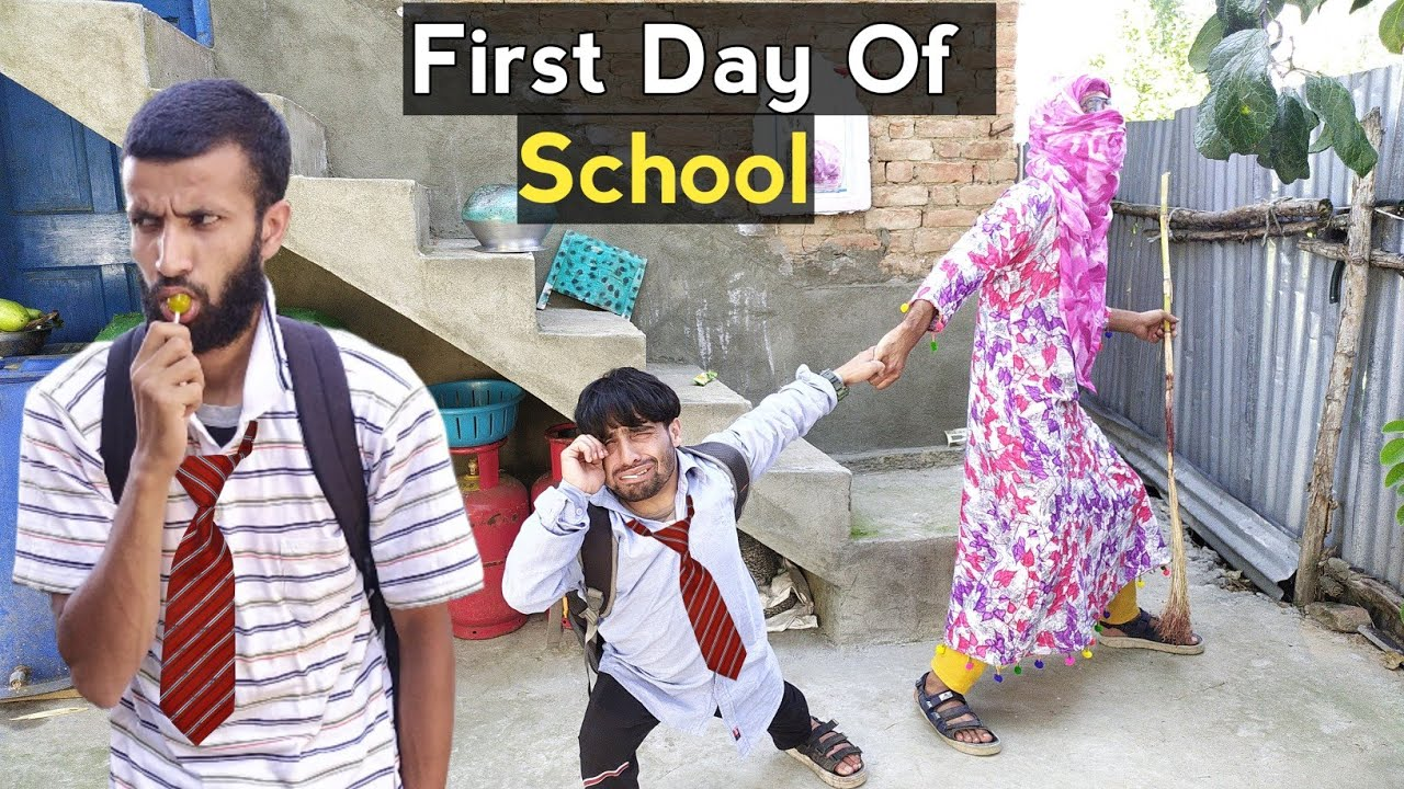 Download First Day Of School , After Lockdown - Kashmiri Funny Drama