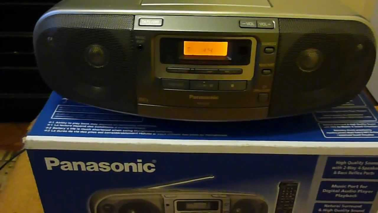 Panasonic rx-d50 test ...