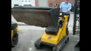 Gold Star Equipment Supply Inc. | Mini Skid Steer Boxer Brute Trx | Used Mini Skid Steer