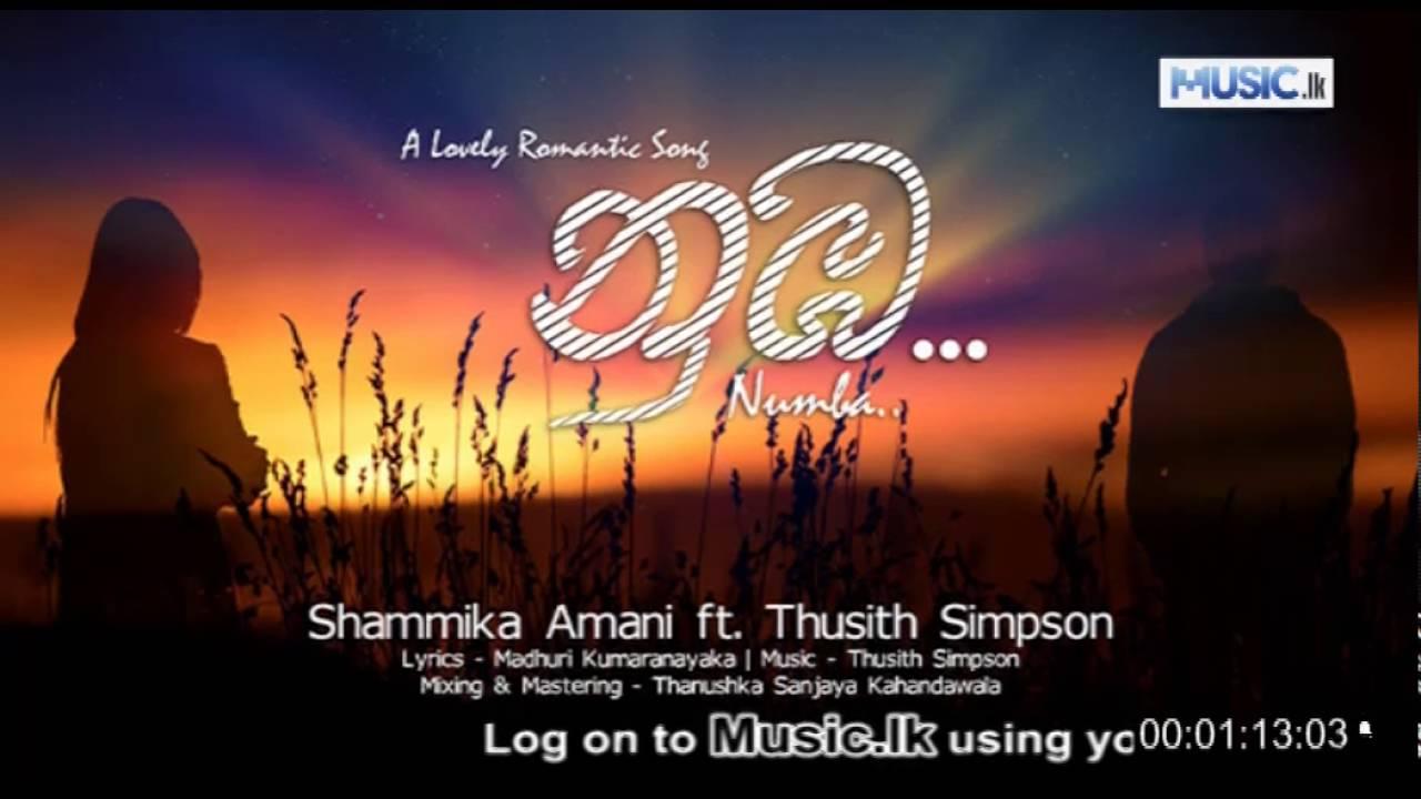Numba - Shammika Amani Music Video Download from Music lk