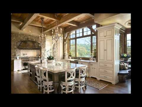 DIY Traditional interior kitchen room design, layouts and setup with images gallery